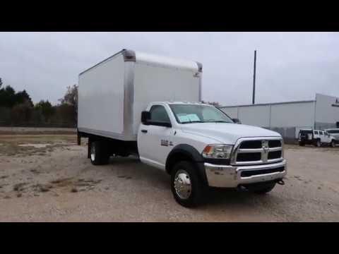 2016 Ram 5500 Box Truck For