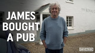 James May gave us a tour of his new pub