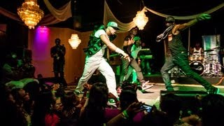P Square performs Alingo in Houston, Texas - coverage by Golden Icons