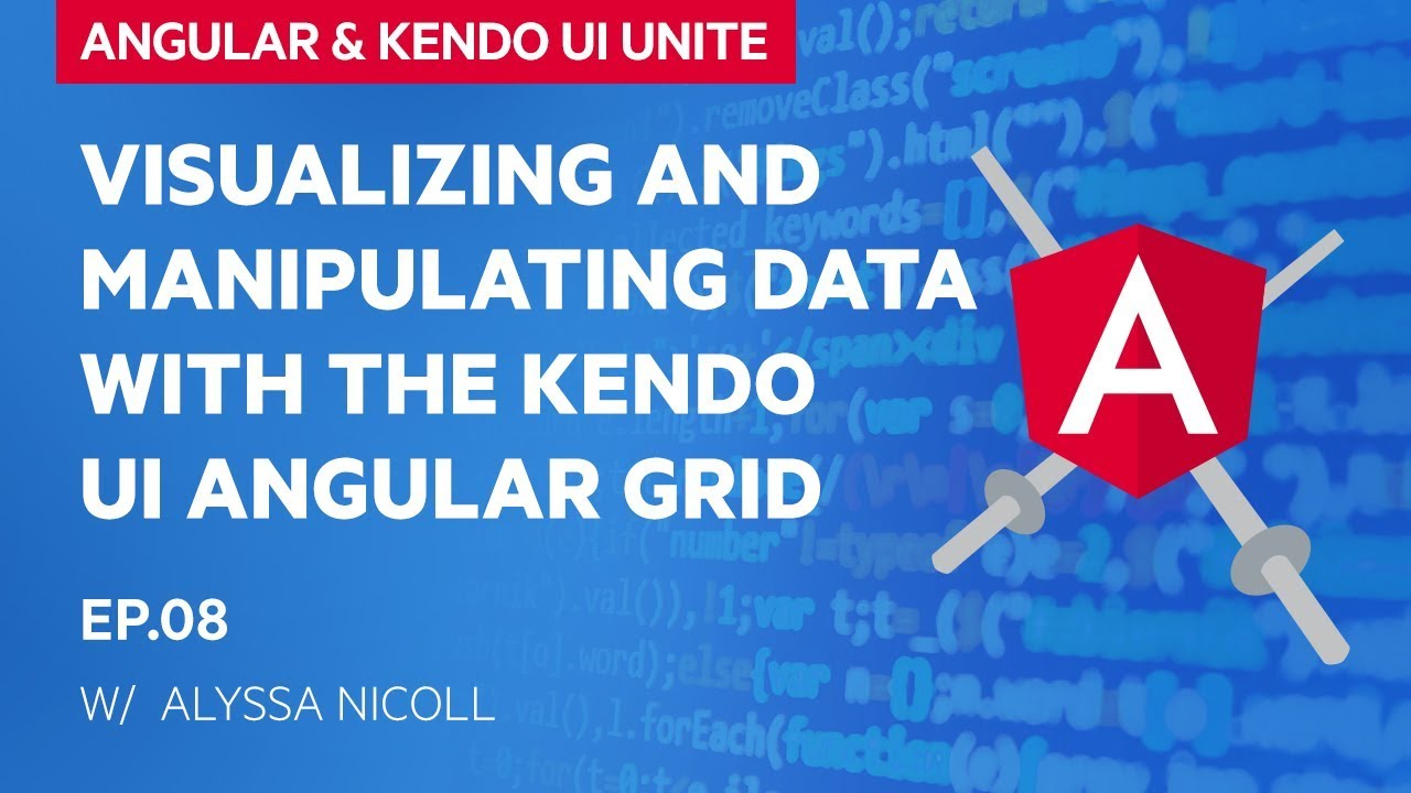 Diving into the Kendo UI Grid with Angular