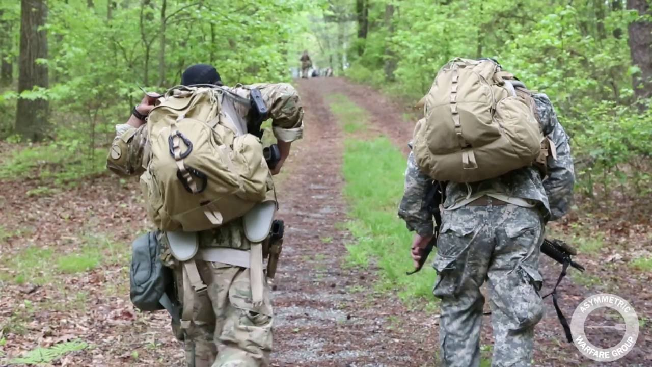 Each year the U.S. Army Asymmetric Warfare Group holds the Pittman Challenge, a competition designed to be mentally and physically demanding.  This year participants competed in teams of two and executed a series of events.