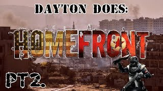 Homefront : Pt2. Meeting The Gang, Sentry Turrets, And A Betrayal!! (Steam PC Gameplay Playthrough)