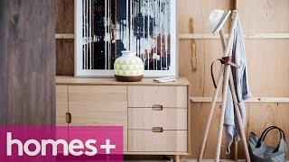 Diy Project: Timber Tripod Coat Rack - Homes+