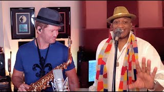 JUST THE TWO OF US (Michael Lington and Gussie Miller) Grover Washington Jr. Quarantine Version