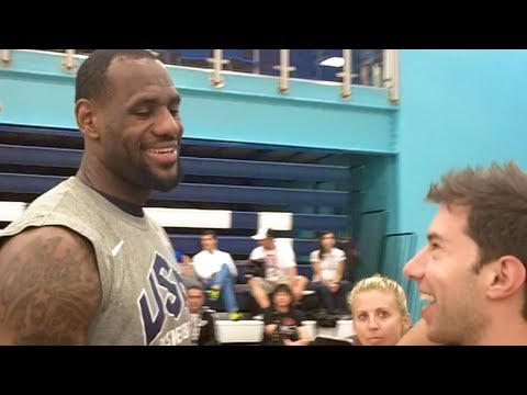 USA Basketball Trick Shot (Feat. Lebron, Kobe, Carmelo etc.)