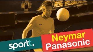 Novo comercial do Neymar com a Panasonic - Neymar Crazy Skills