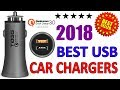 BEST USB CAR CHARGERS | QC 3.0 CERTIFIED | 2018 GADGETS AMAZON INDIA | Hindi