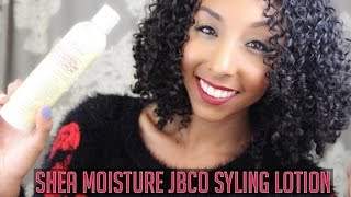 New Shea Moisture JBCO Styling Lotion! | Bianca Renee Today