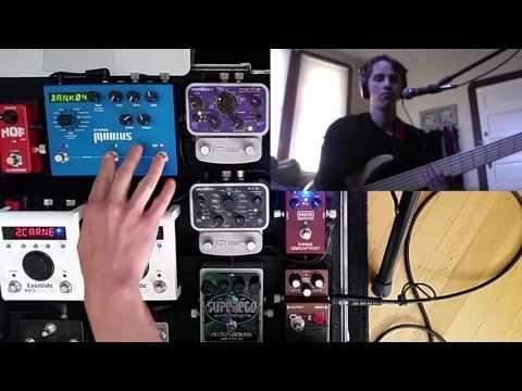 Source Audio Manta Filter Review (Bass Demo, envelope settings)