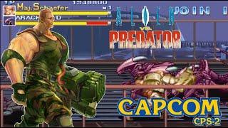 Alien Vs Predator Arcade Lev8 Major Dutch Schaefer no recovery no death playthrough