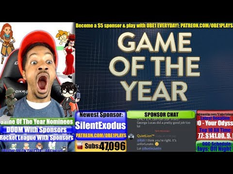 Game Of The Year Nominees Announced