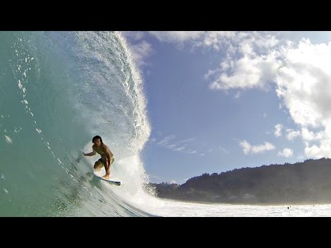 Surfing in Paradise: North Shore
