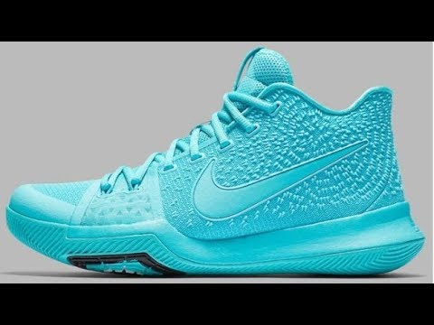 45344c983c0b Nike Kyrie 3 Tiffany Aqua Sneaker Review By Dj Delz - YouTube