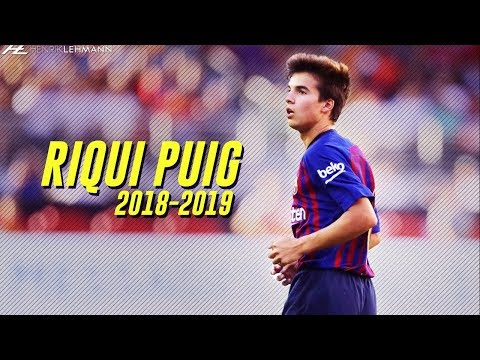 Riqui Puig - Future Star? | Preseason 2018/19