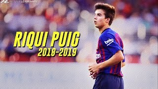 Riqui Puig - Future Star? | Preseason 2018/19
