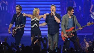 Taylor Swift Ft. Rascal Flatts What Hurts the Most DVD The RED Tour Bnus.mp3