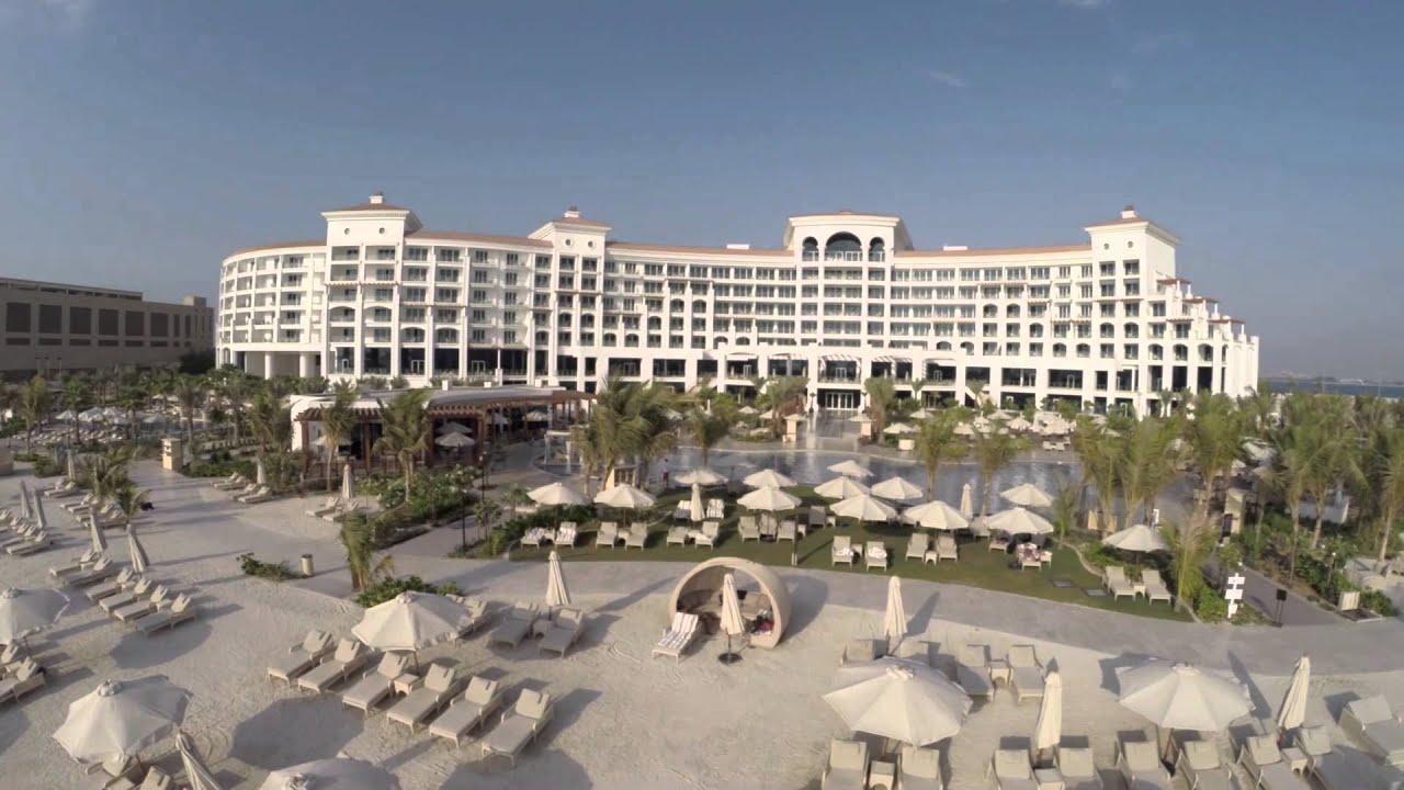 Waldorf astoria dubai palm jumeirah from the sky youtube for Astoria hotel dubai