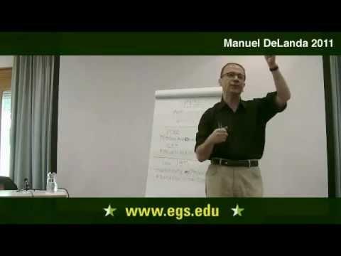 Manuel DeLanda. A Materialist Theory of Language. 2011