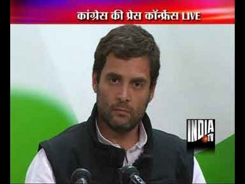 LIVE: Rahul Gandhi seeks support of all parties for passing Lokpal Bill