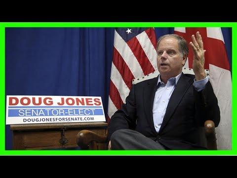 Democrat jones extends olive branch to republicans