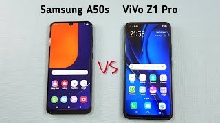 Samsung A50s vs Vivo Z1 Pro SpeedTest & Camera Comparison