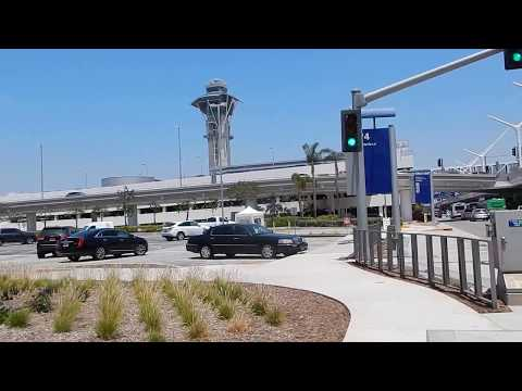 Heading To  The Los Angeles Airport LAX  Parking