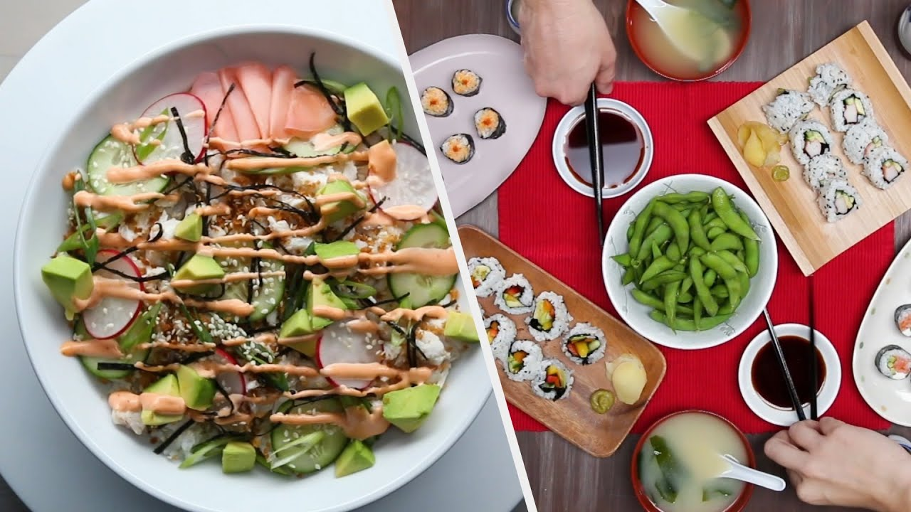 11 Easy Homemade Sushi Recipes For Date Night • Tasty