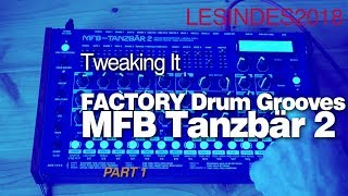 MFB TANZBÄR 2 // FACTORY PRESET PATTERNS // 1