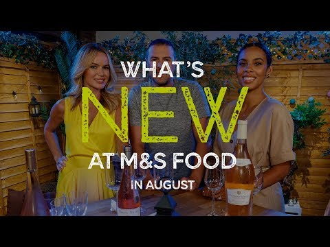 M&S   Episode 12: What's New at M&S FOOD in August   #MyMarksFave