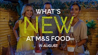 M&ampS  Episode 12: What&#39s New at M&ampS FOOD in August  #MyMarksFave