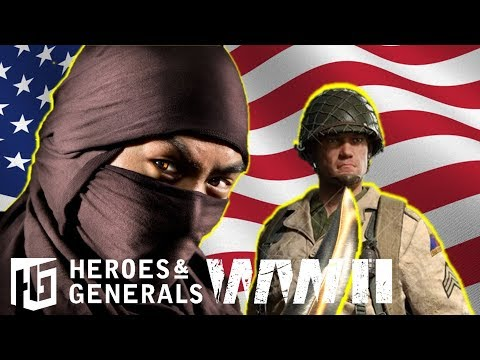 American Ninja ► Paratrooper Ka-Bar | Heroes And Generals