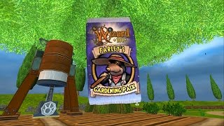 Wizard101: NEW Farley's Gardening Pack |