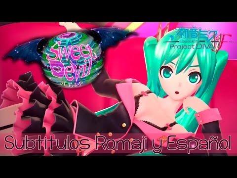 Hatsune Miku - Sweet Devil (Project Diva F) sub Romaji y Español