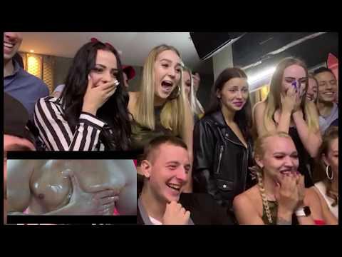Реакция наших девочек на видео - поздравление Benny Benassi - Satisfaction | Пародия
