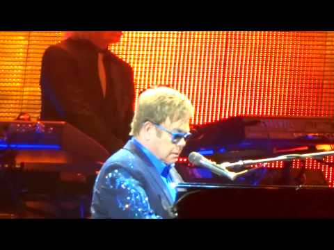 Elton John - Burn Down The Mission at Staples Center