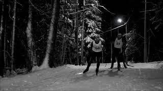 Новогодняя лыжная гонка в Корте 2018