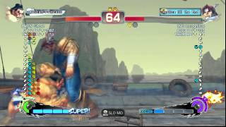 USFIV~ T.Hawk (IND Incognitus) vs.  E.Honda (BMFN Ghost) HD