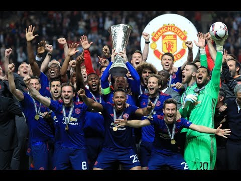 Pogba Player Of Tournament! Europa League Winners! Manchester United