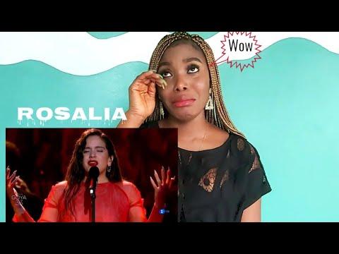 "Reacción a Rosalia canta ""Me Quedo Contigo"" Goya 2019 en la gala de Los premios Goya 2019 Tine&Franz from YouTube · Duration:  8 minutes 37 seconds"