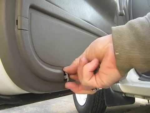 isuzu pickup door lock fix – short version