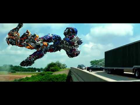 Transformers: Age of Extinction : Gavlatron vs Optimus Prime
