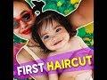 First haircut | KAMI |  Sarah Lahbati and Richard Gutierrez