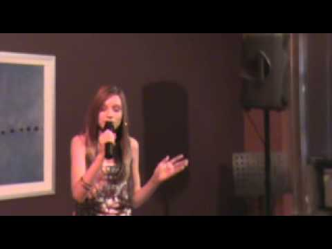 brittany jones performs the song beautiful by chri...