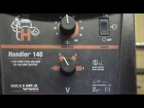 Basic Mig Welder Settings - YouTube