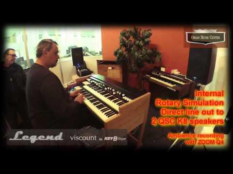 Viscount KeyB Organ Legend - first test (1 of 5)