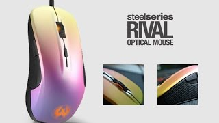steel series rival 300 fade review first impressions