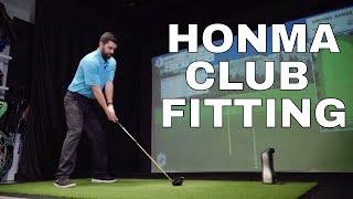 HONMA GOLF CLUB FITTING