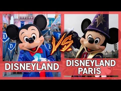 Disneyland Vs. Disneyland Paris