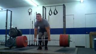 John Cena Musculation 638 POUND DEADLIFT