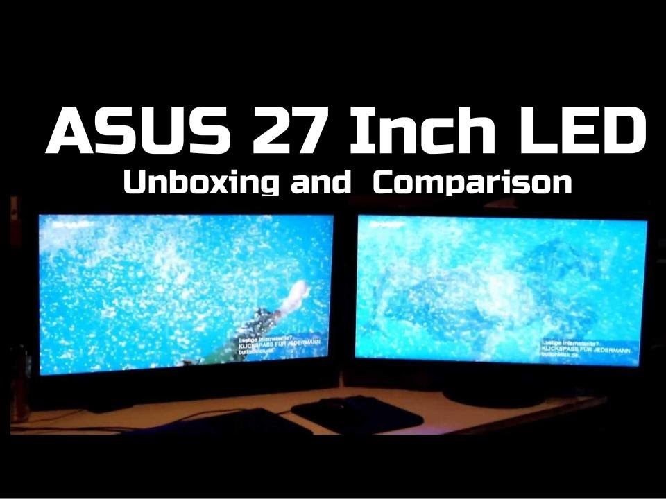 Asus VE278 27 inch LED Monitor Unboxing and Review